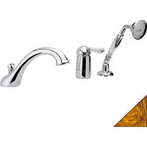 Смеситель для ванны Nicolazzi Classico на 3 отверстия (3414GB76) смеситель для ванны tsarsberg ручка 1202 ис 240051
