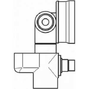 Смеситель для ванны Nicolazzi встраиваемая часть unico (4060) вентиль nicolazzi внутренняя часть 4911