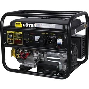Генератор бензиновый Huter DY6500LXA с АВР авр huter для бензогенератора dy6500lx 64 1 20