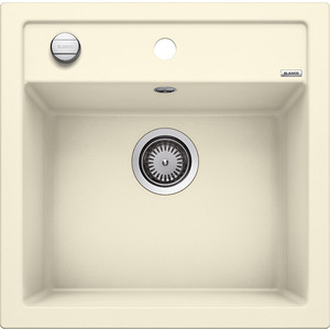 Мойка кухонная Blanco Dalago 5 жасмин с клапаном-автоматом (518525) кухонная мойка blanco dalago 45 f silgranit жасмин с клапаном автоматом