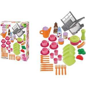 Ecoiffier Набор сушилка для посуды+посуда, 39 предметов 2619 игровые наборы ecoiffier игровой набор вафельница 22 предмета