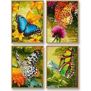 Картины Schipper ''Бабочки'' (4 шт.) 18х24 см 9340628