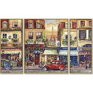 Раскраска по номерам Schipper ''Париж'' 50х80см триптих 9260626