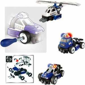 Smoby Набор-конструктор Полиция 3 в 1 500223*