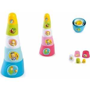 Smoby Пирамидка Cotoons 211322* smoby игрушка блендер tefal smoby