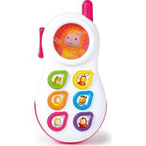 Телефон Smoby со светом, звуком 211314* телефон андроид недорого китайский