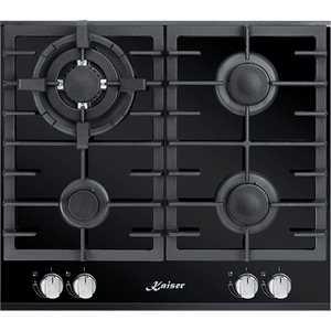 Газовая варочная панель Kaiser KCG 6380 Black Turbo панели для кухни фартук в курске