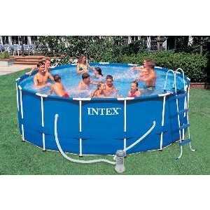 Каркасный бассейн Intex 4.57х1.22м (54946/28236)