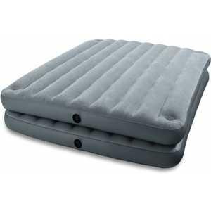 Кровать Intex бежевая 2 в 1, 152х203х46см (67744)