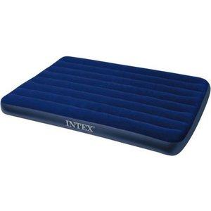 Матрас Intex 137х191х22см синий (68758) intex надувной матрас downy bed