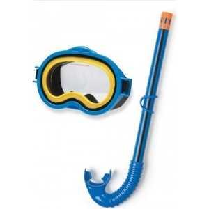 Набор для плавания Intex маска и трубка 3-10лет, (55942)