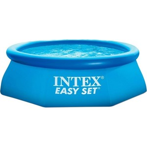 Надувной бассейн Intex Easy Set 2.44х0.76м (54912/28112/28112NP) бассейны intex easy set pool 28168