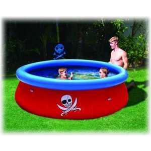 Надувной бассейн Bestway Пират 3D 274х76см, 3480л + 3D очки 2шт., (57243)