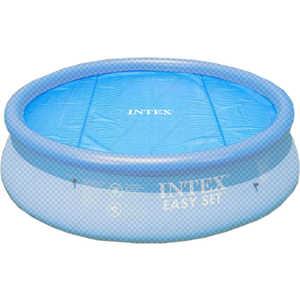 Покрывало Intex для бассейна 2.44м с обогревающим эфектом (59958)/29020 тент intex для бассейна с28026