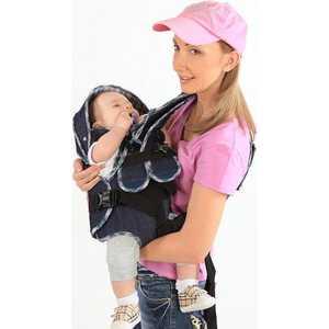 Рюкзак Baby Style кенгуру ''Мася Джинс'' до 9,5 кг 1411939