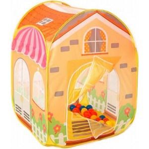 Фотография товара игровой домик Calida ''Вилла'' 85х85х110см и 100 шаров 686 (237619)