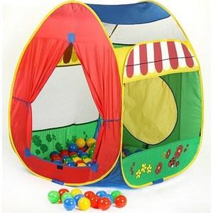 Игровой домик Calida Домик 84х86х107см и 100 шаров 639 игровой домик calida палатка и 200 шаров 637 30059