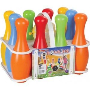 Pilsan Игровой набор ''Супер Боулинг'' (10 кеглей, 2 шара) 06136