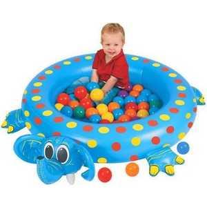 Надувной сухой бассейн Upright ''Слоненок'' с шарами OT7006J