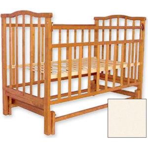 Кроватка Агат Золушка 3 поперечный маятник (слоновая кость) 52105