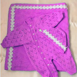 Комплект для новорожденного Балу Облачко (розовый) (весна-осень) Ш155