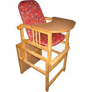 Стол-стул для кормления ПМДК ''Слоник'' (красный)