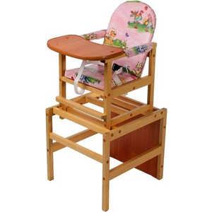 Стол-стул для кормления ПМДК Октябренок (капитошка/светлый дуб) соска avent серия standart медленный поток scf968 41 2 шт