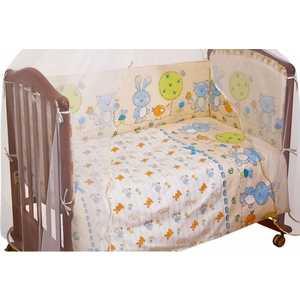 Фотография товара комплект постельного белья Сонный Гномик ''Акварель'' 3 предмета (розовый) бязь 306 (238723)