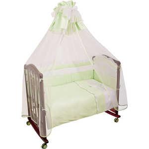Комплект постельного белья Сонный Гномик ''Пушистик'' 3 предмета (салатовый) сатин 310