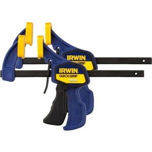 Струбцина Irwin до 300мм (2шт) mini (T54122EL7) струбцина irwin quick grip до 91 см
