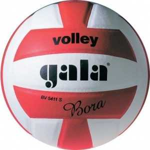 Мяч волейбольный Gala Bora 10, арт. BV5671S, р. 5, бело-красный баскетбольный мяч gala boston 7 арт bb7041r