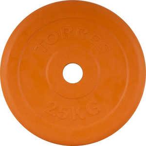 Диск обрезиненный Torres 26 мм 2.5 кг оранжевый