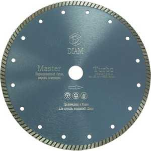 Диск алмазный Diam 180х22.2мм Master Турбо (000181) диск алмазный diam 400х60 25 4мм marble elite корона 000238