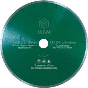 Диск алмазный Diam 125х22.2мм Granite-Elite Корона (000154) диск алмазный diam 250х32 25 4мм granite корона 000243