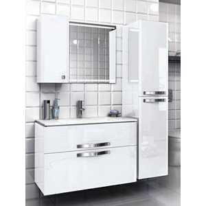 Комплект мебели Edelform Нота 75 белый  edelform мебель для ванной edelform nota 75 белая