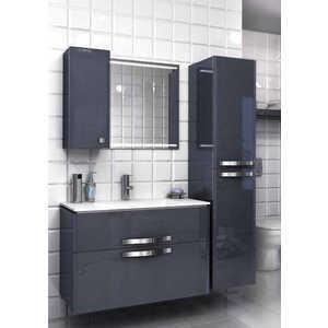 Комплект мебели Edelform Нота 90 серый комплект мебели aquanet тиана 90 у с б к цвет венге фасад белый