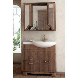 Комплект мебели Aqualife Design Пиллау 80 aquaton крит левосторонний с бельевой корзиной венге
