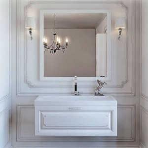 Комплект мебели Aqwella Империя Т10/W комплект мебели aqwella корсика 85