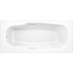 Стальная ванна BLB Atlantica с шумоизоляцией 170х80 см 3.5 мм с отверстиями для ручек (B70J handles)