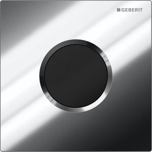 Привод бесконтактного смыва Geberit Sigma 01 Hytronic для писсуара хром глянец (116.021.21.5) клавиша смыва geberit sigma 30 белый хром глянцевый 115 883 kj 1