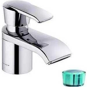Смеситель для раковины Kludi Joop с донным клапаном 1 1/4 (55024H775) смеситель для биде коллекция joop 55216h705 однорычажный хром зеленый kludi клуди