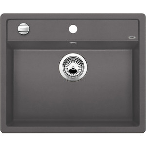 Мойка кухонная Blanco Dalago 6 темная скала (518850) кухонная мойка ukinox stm 800 600 20 6