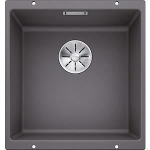 Мойка кухонная Blanco SubLine 400-u темная скала (523423/518961) мойка subline 350 150 u cer basalt 516976 blanco