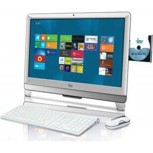 "Моноблок iRU 308 21.5"" HD P G2010/4Gb/500Gb/DVDRW/DOS/WiFi/White/Web/ клавиатура/мышь"