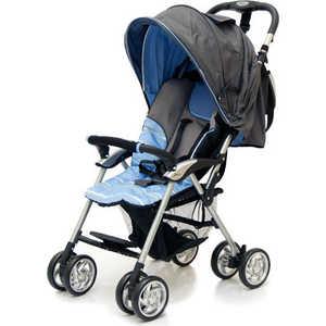 Коляска прогулочная Jetem Elegant темно-серый/синий/полоска коляска трость jetem elegant dark grey blue полоска
