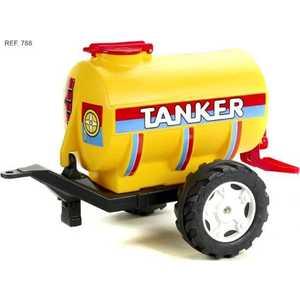Цистерна-танкер Falk желтая 2 колеса 83 см FAL 788