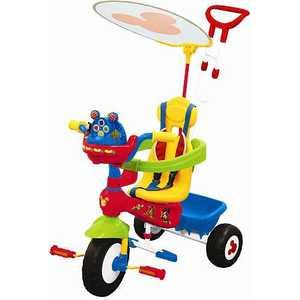 Велосипед 3-х колесный Kiddieland ''Микки Маус'' с ручкой KID 043646