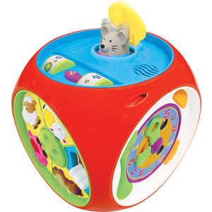 Kiddieland Развивающая игрушка Многофункциональный короб (мультикуб) KID 049775 kiddieland развивающая игрушка космический корабль kid 045898