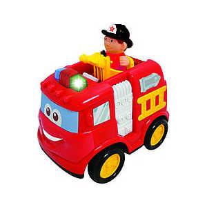 Kiddieland Развивающая игрушка Пожарная машина р/у KID 042929 kiddieland развивающая игрушка пожарная машина с 18 мес