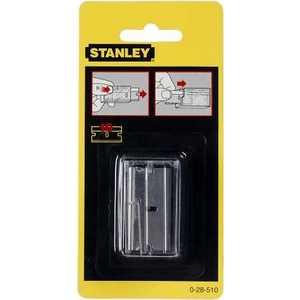 Лезвия Stanley для скребка 40мм 100 шт (1-11-515) запасные лезвия alco к артикулу 1445 5 штук 1446